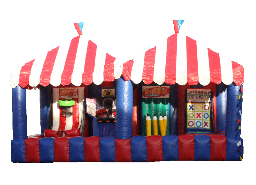inflatable carnival game - bouncy castle rentals - toronto