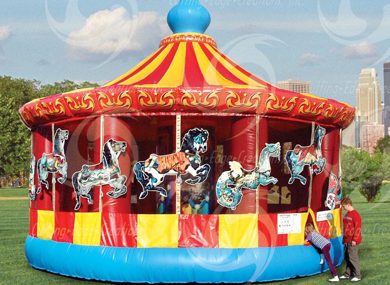 carousel bounce - bouncy castle rentals - toronto