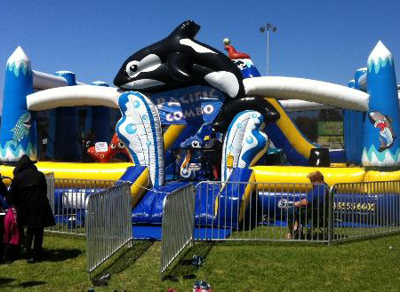 pacific combo - bouncy castle rentals - toronto