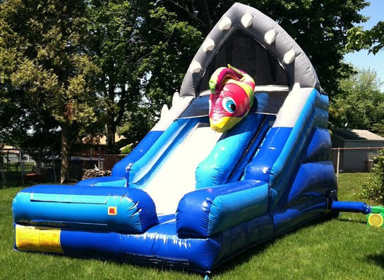 shark escape - bouncy castle rentals - toronto