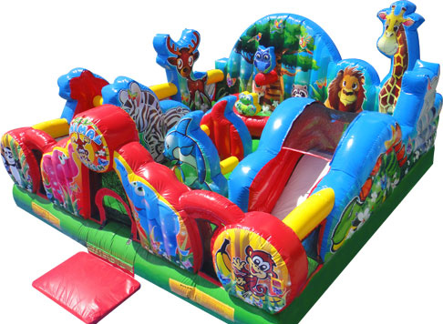 animal kingdom - bouncy castle rentals - toronto