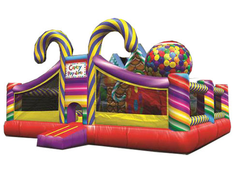 candy land playground - bouncy castle rentals - toronto