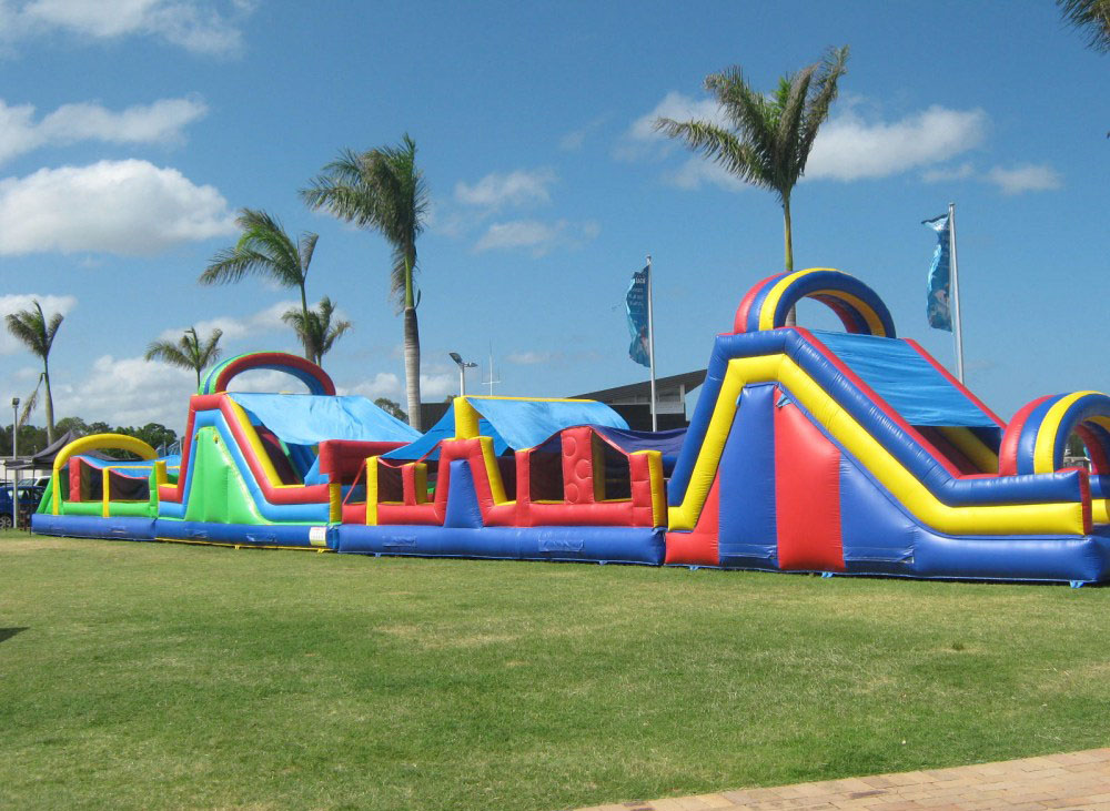obstacle course - bouncy castle rentals - toronto