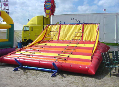 jungle ladder - bouncy castle rentals - toronto