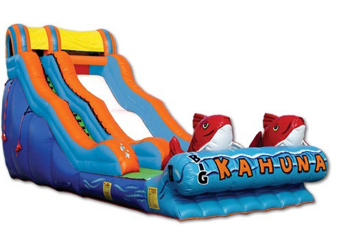 big kahuna water slide - bouncy castle rentals - toronto