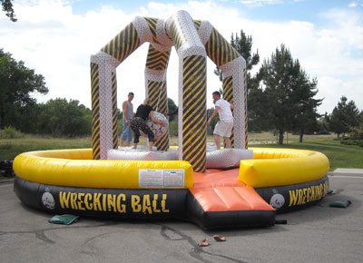 wrecking ball - bouncy castle rentals - toronto