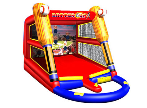 batters up - baseball game  - bouncy castle rentals - toronto