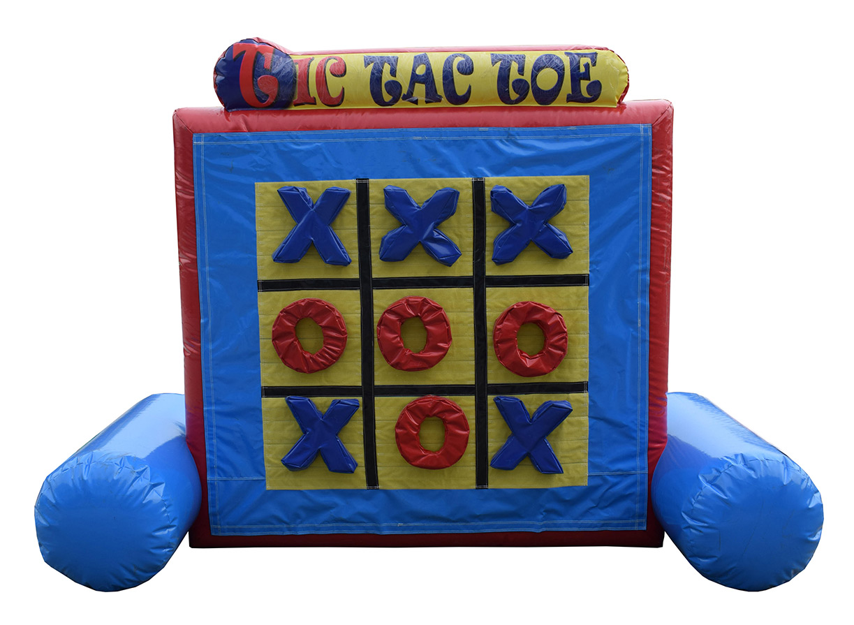 tic tac toe - connect 4 - bouncy castle rentals - toronto