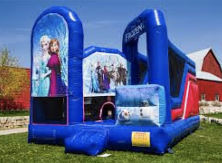 frozen - bouncy castle rentals - toronto