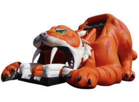 sabertooth tiger slide - bouncy castle rentals - toronto